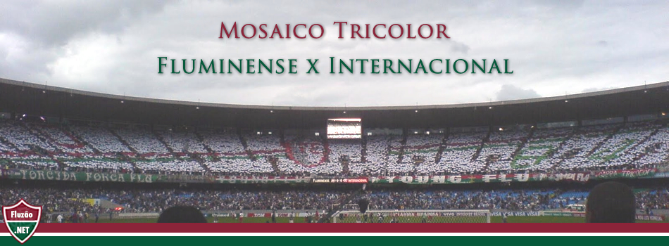 Mosaico Fluminense x Internacional 2010