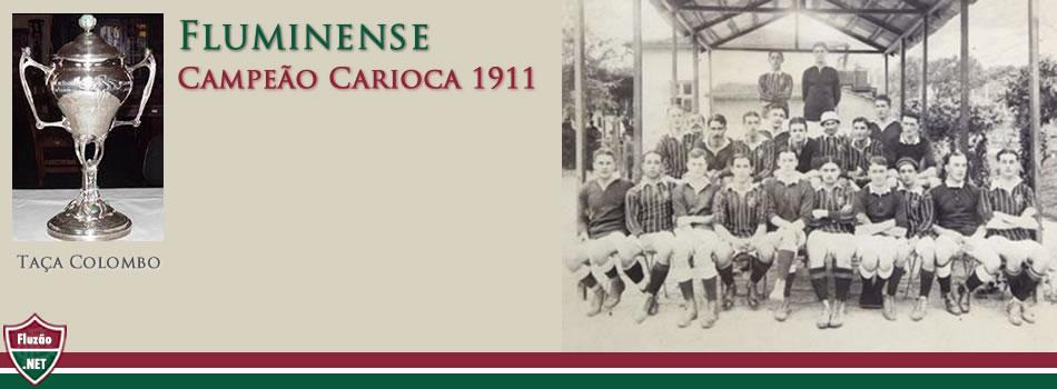 Fluminense Campeão Carioca 1911
