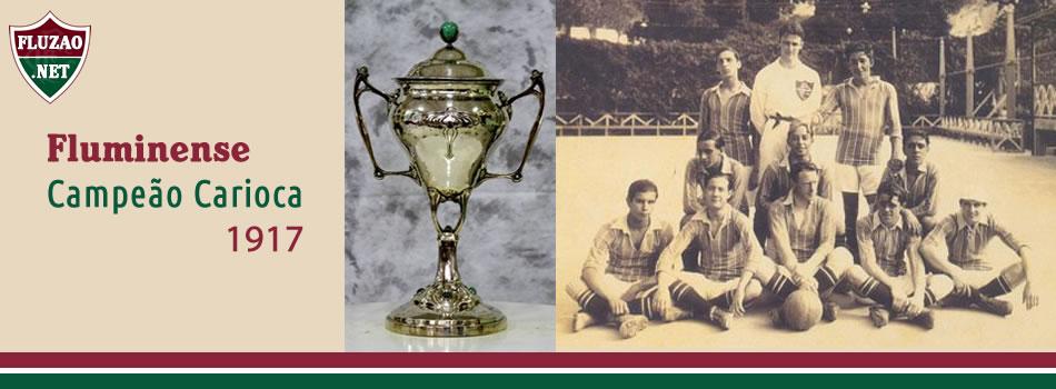 Fluminense Campeão Carioca 1917